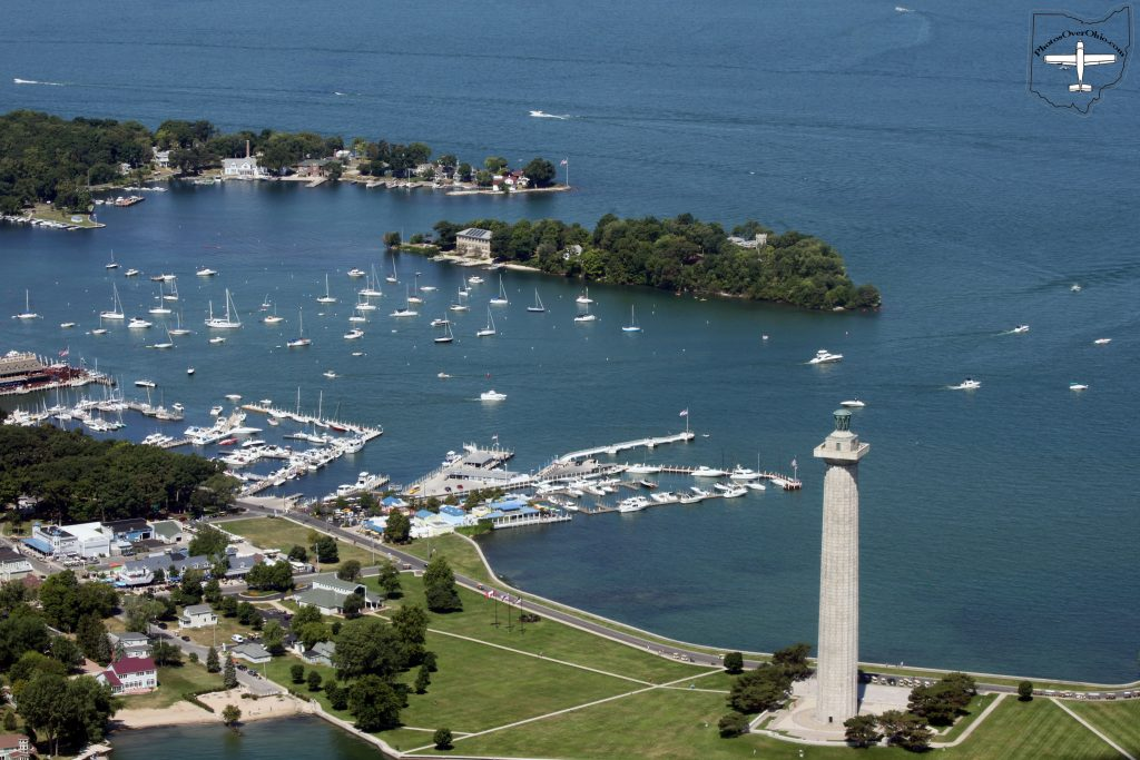 Put-In-Bay, with Perry's Monument