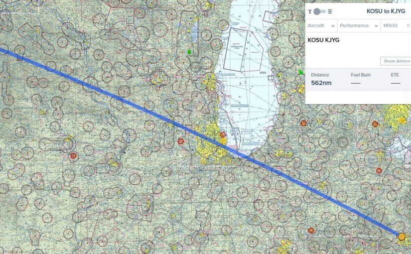 Flight Planning to Minnesota